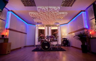 Alive hq recording studio blog series for Recording studio live room design
