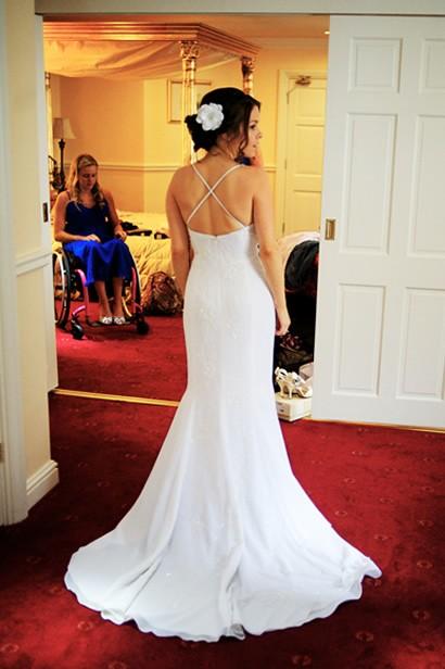 Amys wedding dress