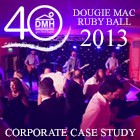 Corporate Entertainment Case Study - Douglas Macmillan Hospice Ruby Ball