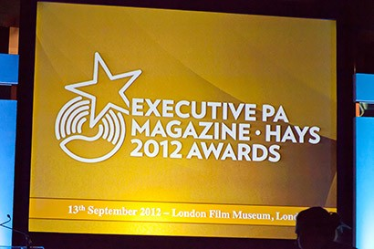 Executive PA Magazine / Hays Awards 2012