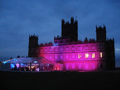 Guy Stevens DJs At Downton Abbey With Scouting For Girls
