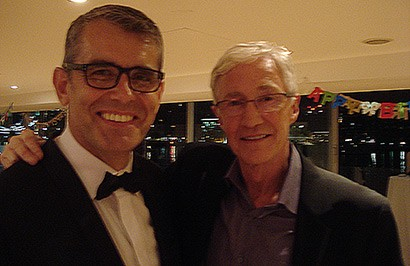 DJ Guy Stevens Entertains a Host of TV Stars at Paul O'Grady's 60th Birthday Party