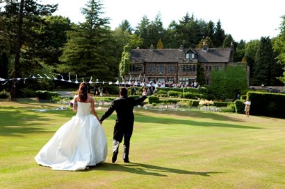 Arriving at Whirlowbrook Hall