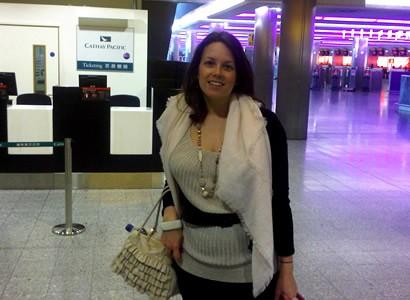 At Heathrow ready to go