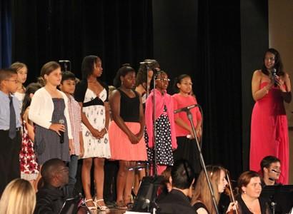 Singing Workshop perform on stage
