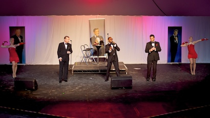 Rat Pack Is Back on stage