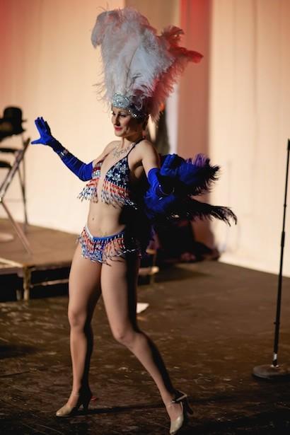 Cabaret dancing