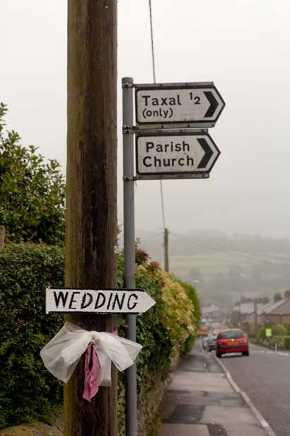 Sign posts to Taxal