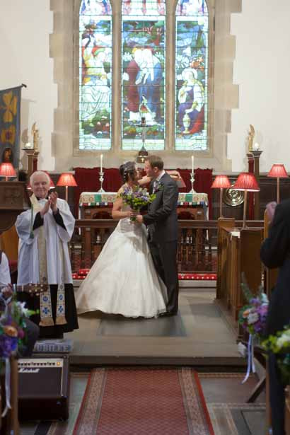 The church wedding ceremony