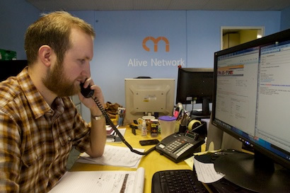 Nick at Alive Network