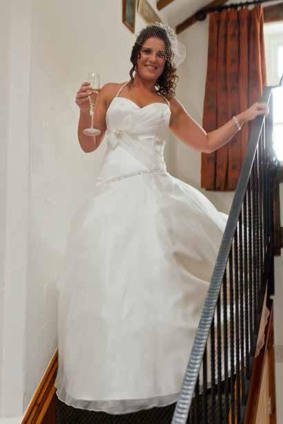 The bride Zoe