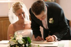How to book a civil ceremony or church wedding