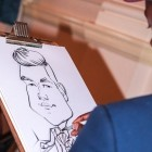Hire MK Caricatures, Caricaturists from Alive Network Entertainment Agency