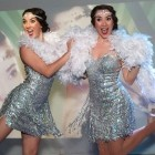 Twin Charleston Dancers available to hire from Alive Network Entertainment Agency