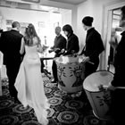 3 Sticks Drummers, Unique Wedding Music available to hire for weddings in Glamorgan