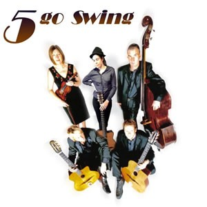 5 Go Swing, 1930's Swing and Gypsy Jazz Band