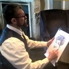 Alex Caricatures, live entertainment to hire at Alive Network Entertainment Agency