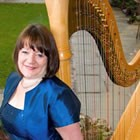 Anne Hewitt (Harpist), Harpist for hire in Brecon