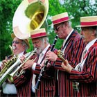 Burgundy Boater Band, live entertainment to hire at Alive Network Entertainment Agency
