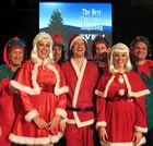 The Christmas Band, Specialist Music for hire in Carmarthen