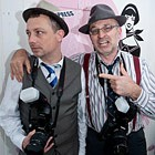 Comedy Paparazzi, Wedding Street Entertainer available to hire for weddings in Bedfordshire