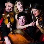 Comedy String Quartet are available in Anglesey