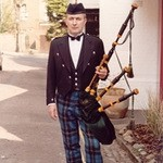 Bagpiper Dave Brooks, Solo, Duo or Trio for hire in Perthshire area