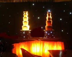 Double Luxury Chocolate Fountain, Event Supplier