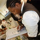 Draw A Crowd Caricatures, Wedding Caricaturist available to hire for weddings in Ayrshire area