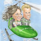 Drop Dead Caricatures, Wedding Caricaturist available to hire for weddings in Northumberland