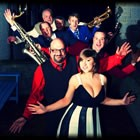 Elaina and The West Coast Stompers, Swing Jive Band for hire in Leicestershire