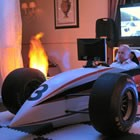 F1 Racing Simulator, Wedding Event Supplier available to hire for weddings in Ayrshire area