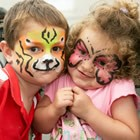 Face Painters, Childrens Wedding Entertainer available to hire for weddings in Gloucestershire