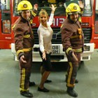 Fire Fighters In Song, Wedding Singing Waiter available to hire for weddings in Merioneth