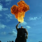 Fire and Glow Performers, Circus Performer for hire in Merioneth