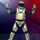 Ilan the Robotic Man, Wedding Circus Performer available to hire for weddings in Radnor