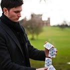 Joe Stone, Wedding Magician available to hire for weddings in Caernarfon