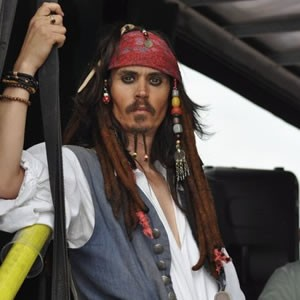 Johnny Depp Captain Jack Sparrow Lookalike, Look alike