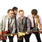 Live Wires, Rock & Pop Wedding Band available to hire for weddings in Cardigan