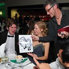 Midlands Caricaturist, Wedding Caricaturist available to hire for weddings in Northumberland
