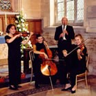 Popular Classical Quartet, Wedding Medieval Musician available to hire for weddings in Leicestershire