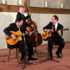 The Hot Jazz Trio Live Music to hire for a Wedding Drinks Reception