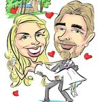 Sam The Caricaturist, best selling live band to hire