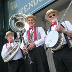 Silver St Dixie Trio, Jazz Band for hire in Flint