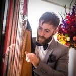 Hire Thomas (Harpist), Harpists from Alive Network Entertainment Agency