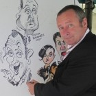 Tims Cracking Caricatures, live entertainment to hire at Alive Network Entertainment Agency