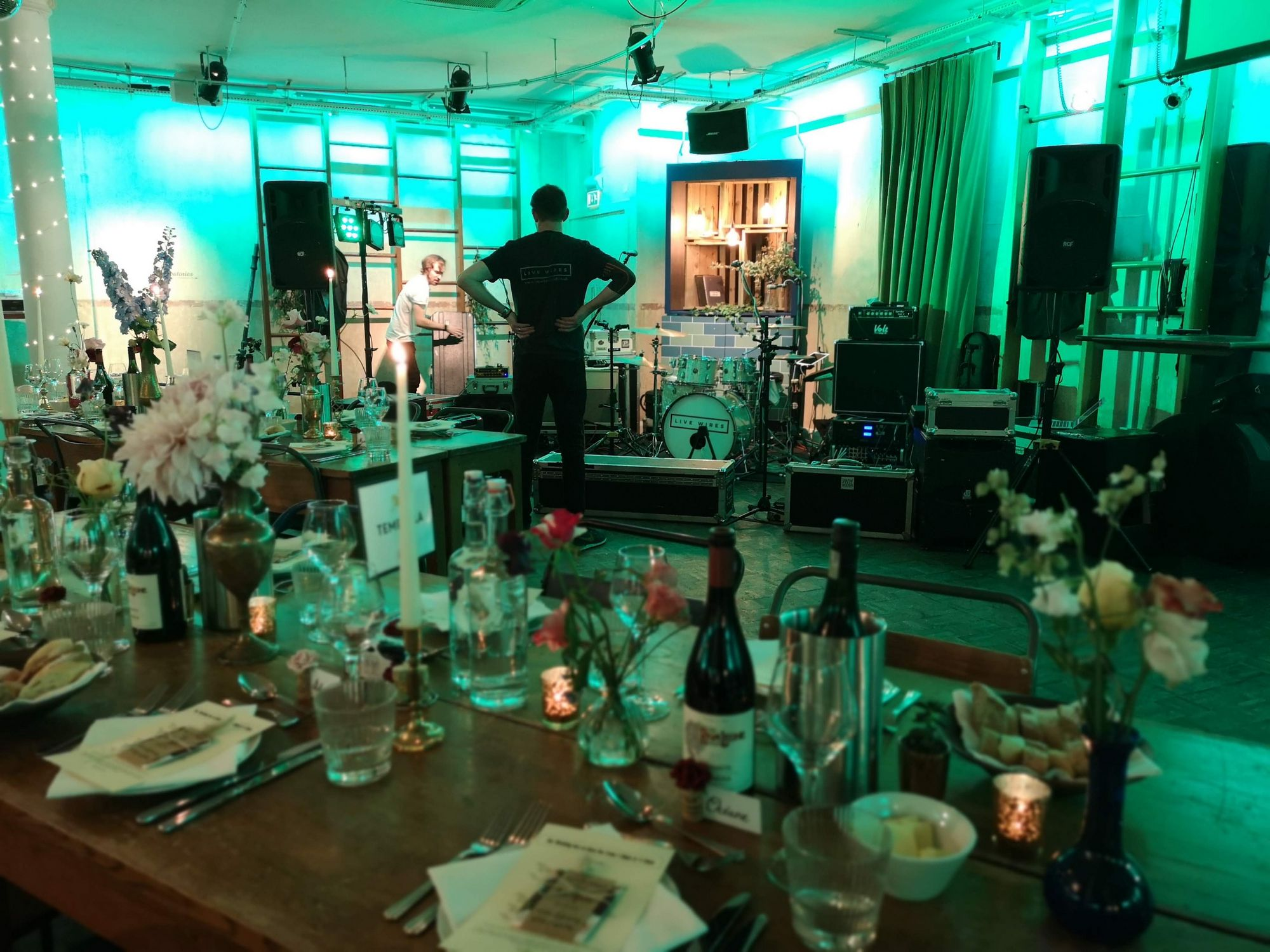 Live Wires | Rock and Pop Function Band Staffordshire