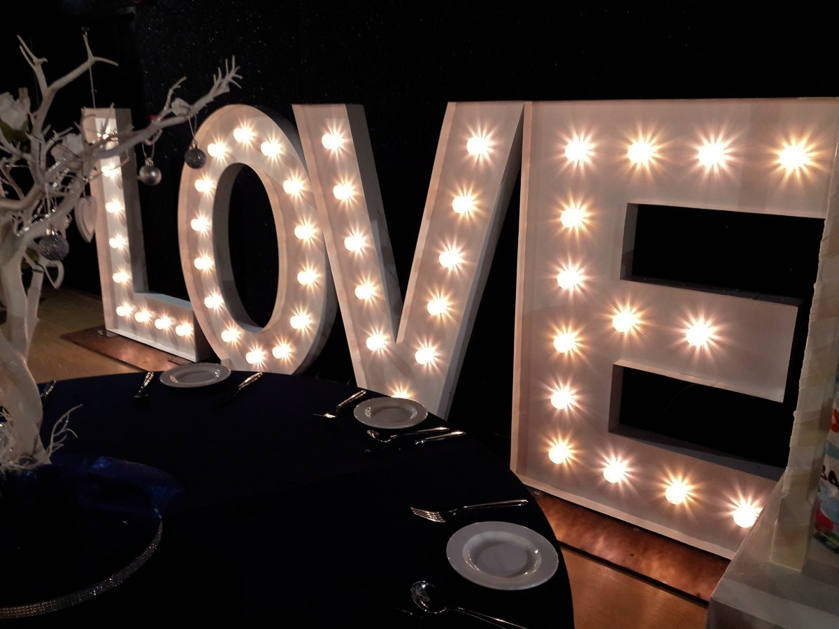 Let There Be Light Light Up Letters Amp Love Signs Essex