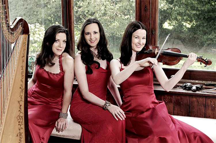 Affiniti | Harp, Violin and Voice Trio Southern Ireland