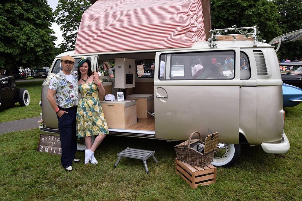 Campervan Photobooth Thatcham Berkshire See In Action